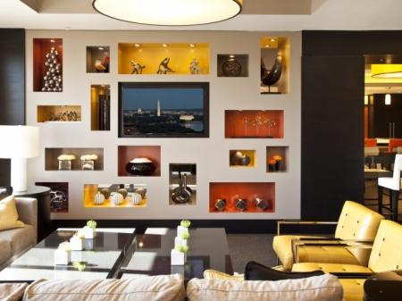 Resident Study Lounge | Apartment Homes in Washington, DC | Meridian at Gallery Place