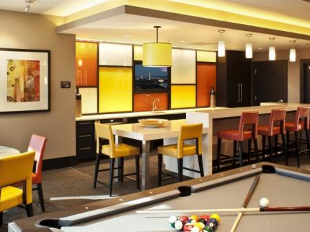 Community Study Lounge | Apartments Homes for rent in Washington, DC | Meridian at Gallery Place