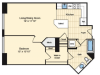 1 Bedroom Floor Plan | Luxury Apartments In Alexandria VA | Carlyle Place