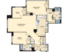 3 Bedroom Floor Plan | Alexandria Apartments | Carlyle Place