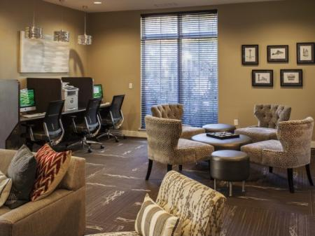 Community Business Center | Luxury Apartments In Frederick MD | Reserve at Ballenger Creek