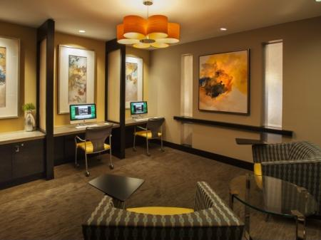 Cyber Cafe at The Madison at Ballston Station