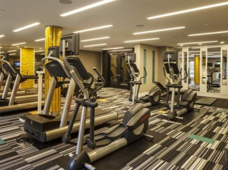 Fitness Center at The Madison at Ballston Station