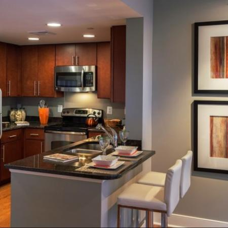 Elegant Kitchen | Apartments in Washington, DC | Meridian at Mt. Vernon Triangle