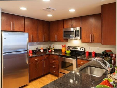 Spacious Kitchen | Apartments for rent in Washington, DC | Meridian at Mt. Vernon Triangle