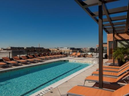 Swimming Pool | Apartment Homes in Washington, DC | Meridian at Mt. Vernon Triangle