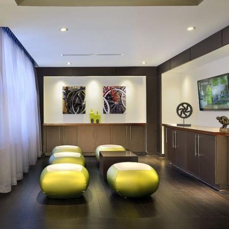 360H Apartments clubroom with wii