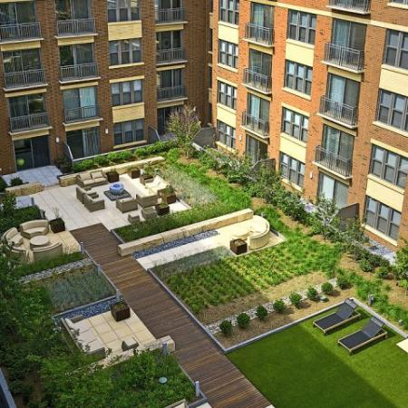 360h apartments green space