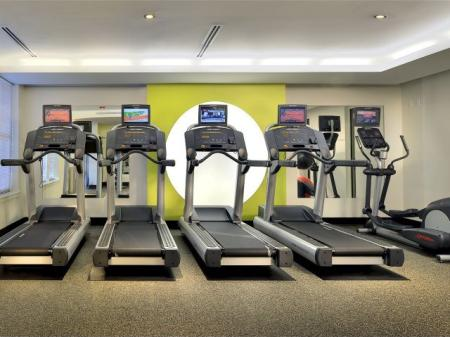 360h apartments fitness center