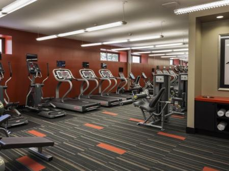 State-of-the-Art Fitness Center | North Bergen NJ Apartments For Rent | Half Moon Harbour Apartments