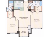 Floor Plan 13 | Old Town Alexandria Apartments | Meridian at Eisenhower Station