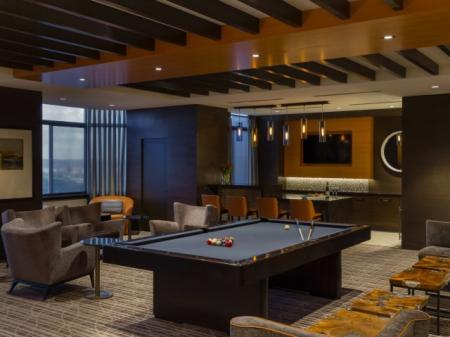 Resident Billiards Table | Apartments Alexandria VA | Meridian at Carlyle