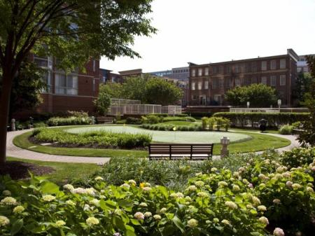 Expansive Grounds | Apartments Alexandria VA | Meridian at Carlyle
