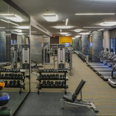 State-of-the-Art Fitness Center | Apartment Homes in Washington, DC | Meridian at Mt. Vernon Triangle