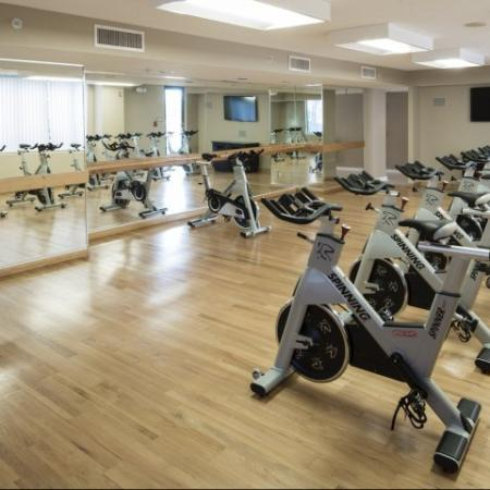 Community Fitness Center | Apartment in Arlington, VA | Meridian at Courthouse Commons
