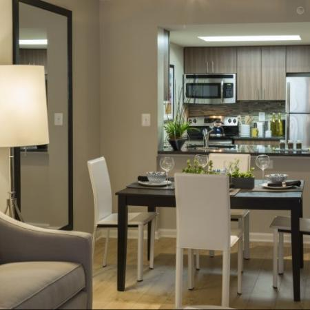 Modern Kitchen | Arlington VA Apartment For Rent | Meridian at Courthouse Commons