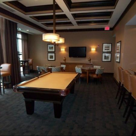 Resident Billiards Table | Apartments For Rent Near Me | Meridian at Eisenhower Station