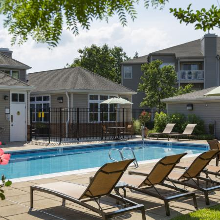 Sparkling Pool | Apartments Frederick MD | Reserve at Ballenger Creek
