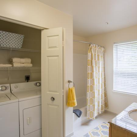 Resident Laundry Room | Frederick MD Apartments | Reserve at Ballenger Creek
