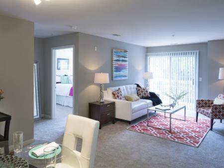 Luxurious Living Room | Apartments For Rent Frederick MD | Reserve at Ballenger Creek
