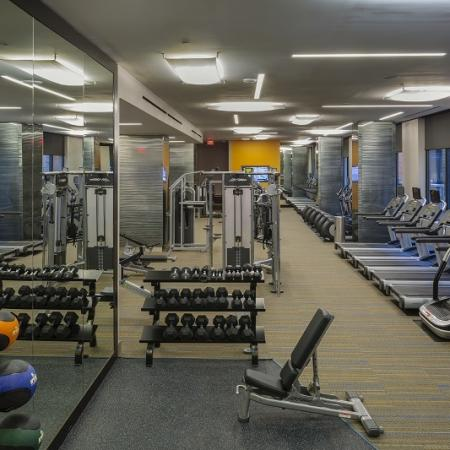 Community Fitness Center | Apartment in Washington, DC | Meridian at Mt. Vernon Triangle