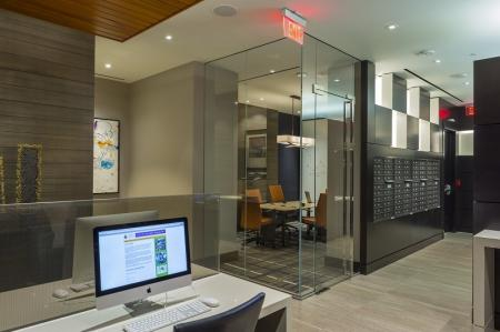 Community Business Center | Apartments in Washington, DC | Meridian at Mt. Vernon Triangle