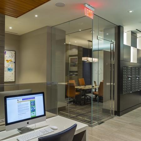 Community Business Center   Apartments in Washington, DC   Meridian at Mt. Vernon Triangle