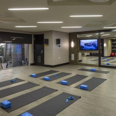 Resident Yoga Studio | Apartments in Washington, DC | Meridian at Mt. Vernon Triangle