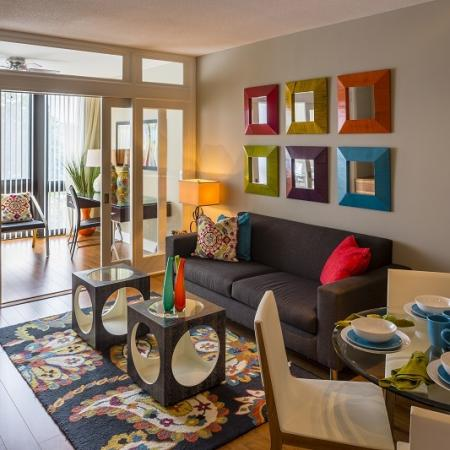 Elegant Living Area | Apartments Washington, DC | Meridian at Mt. Vernon Triangle