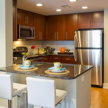 Elegant Dining Room   Washington DC Apartments For Rent   Meridian at Mt. Vernon Triangle