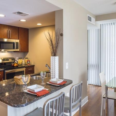Luxurious Kitchen | Apartment Homes in Washington, DC | Meridian at Mt. Vernon Triangle