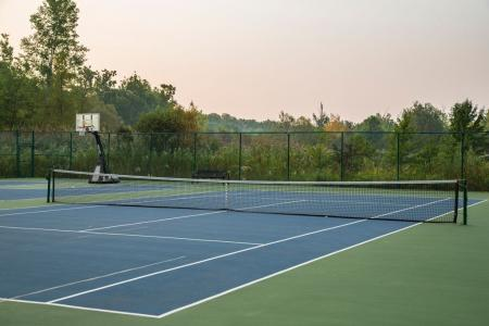 Community Tennis Court | Apartments In Wayne NJ | Mountain View Crossing