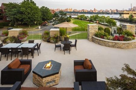 Resident Fire Pit | North Bergen NJ Apartments | Half Moon Harbour Apartments 2