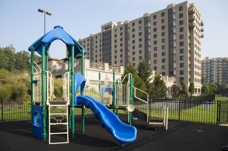 Community Children's Playground | North Bergen NJ Apartments For Rent | Half Moon Harbour Apartments