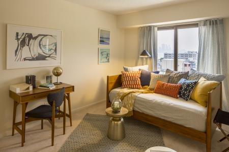 Luxurious Living Room | North Bergen NJ Apartments For Rent | Half Moon Harbour Apartments