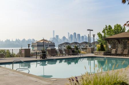 Resort Style Pool | Apartments For Rent In North Bergen NJ | Half Moon Harbour Apartments