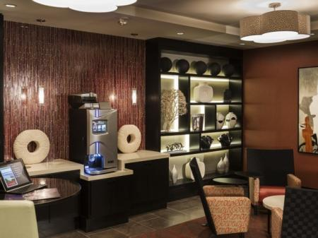 Resident Coffee Bar | Apartments For Rent In North Bergen NJ | Half Moon Harbour Apartments