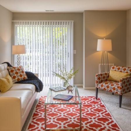 Luxurious Living Area | Apartments For Rent In Frederick Maryland | Reserve at Ballenger Creek