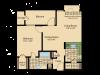 Floor Plan 2 | Apartments In Wayne NJ | Mountain View Crossing