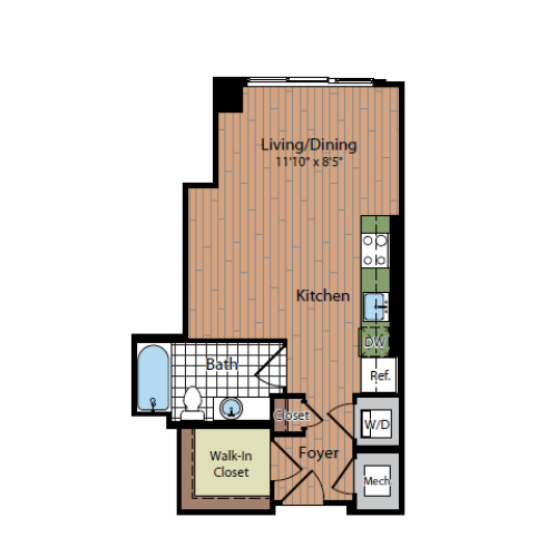 Floor Plan | Parc Meridian at Eisenhower Station