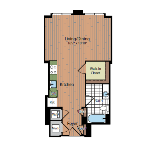 Floor Plan 2 | Parc Meridian at Eisenhower Station