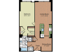 Floor Plan 4   Parc Meridian at Eisenhower Station
