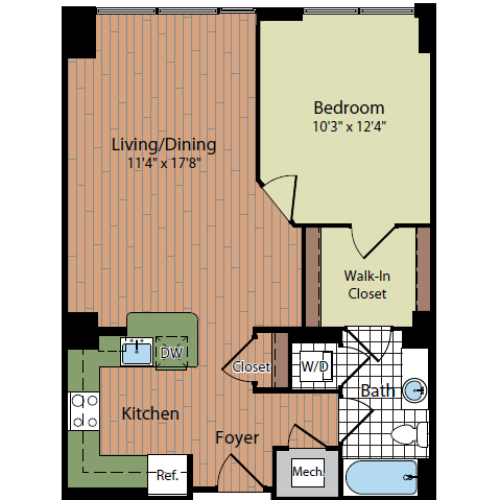 Floor Plan | Parc Meridian at Eisenhower Station 2