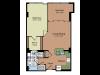 Floor Plan 2 | Parc Meridian at Eisenhower Station 2