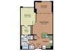 Floor Plan 3 | Parc Meridian at Eisenhower Station 2