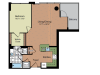 Floor Plan 4 | Parc Meridian at Eisenhower Station 2