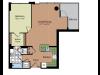 Floor Plan 4 | Parc Meridian at Eisenhower Station 2