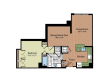 Floor Plan 5 | Parc Meridian at Eisenhower Station 2