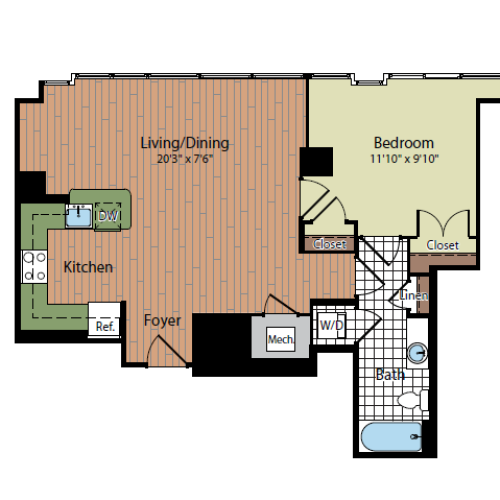 Floor Plan | Parc Meridian at Eisenhower Station 3