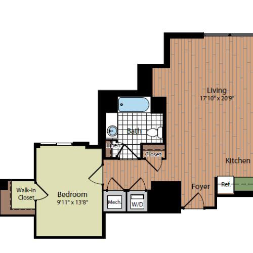 Floor Plan 3 | Parc Meridian at Eisenhower Station 3
